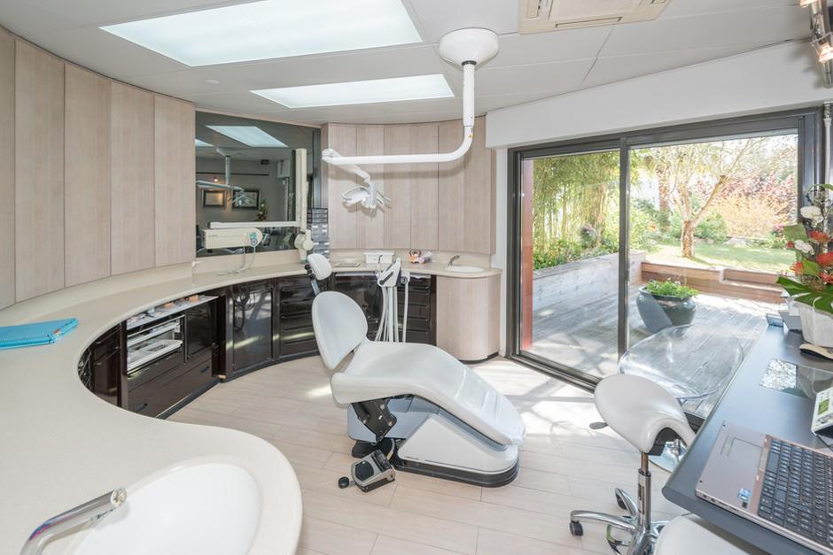 Espace de soins dentaire